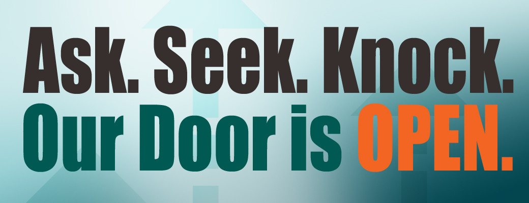 Ask.Seek.Knock.